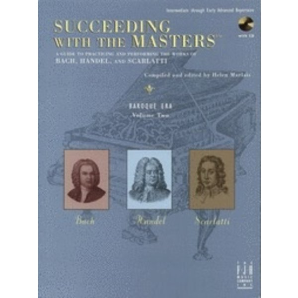 FJH Succeeding with the Masters, Baroque Era, Volume Two
