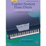 Alfred Music Easy Teacher-Student Piano Duets in Three Progressive Books - Book 2