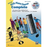 Alfred Music Alfred's Kid's Piano Course, Complete w/DVD