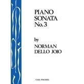 Carl Fischer Dello Joio - Piano Sonata No. 3