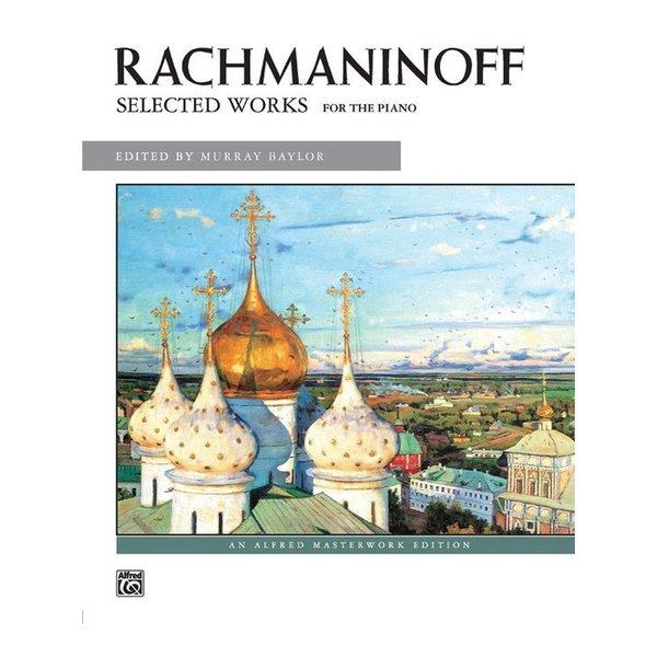 Alfred Music Rachmaninoff Selected Works