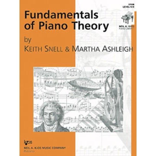 Kjos Fundamentals of Piano Theory Level 6