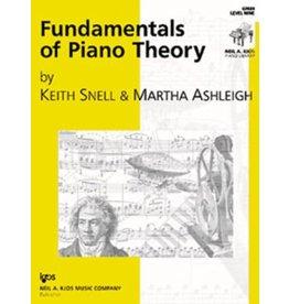 Level 9 Fundamentals of Piano Theory