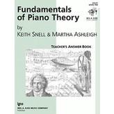 Kjos Fundamentals of Piano Theory Level 10-Answer Book