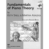 Kjos Fundamentals of Piano Theory Level 5 Answer Book