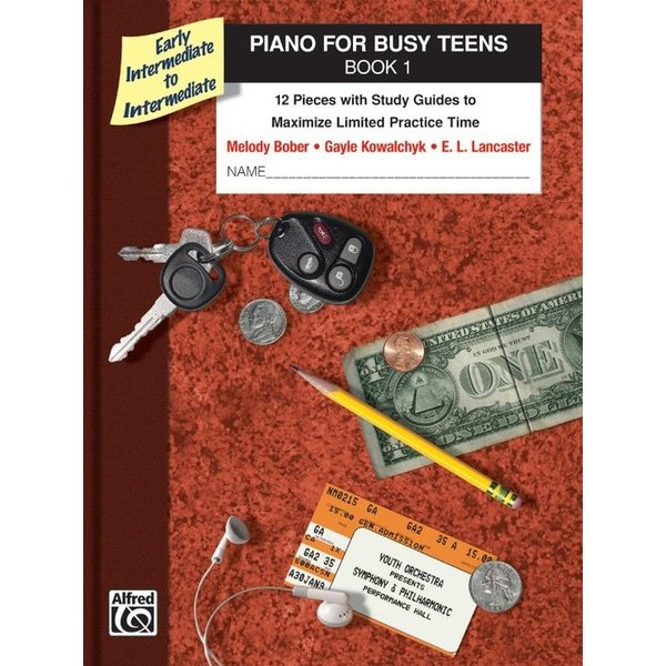 Alfred Music Piano for Busy Teens, Book 1
