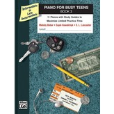 Alfred Music Piano for Busy Teens, Book 3