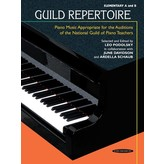 Alfred Music Guild Repertoire: Piano Music Appropriate for the Auditions of the National Guild of Piano Teachers, Elementary A & B