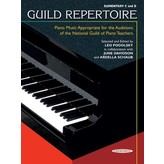 Alfred Music Guild Repertoire: Piano Music Appropriate for the Auditions of the National Guild of Piano Teachers, Elementary C & D