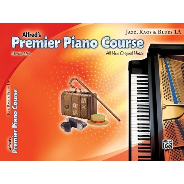 Alfred Music Premier Piano Course: Jazz, Rags & Blues Book 1A