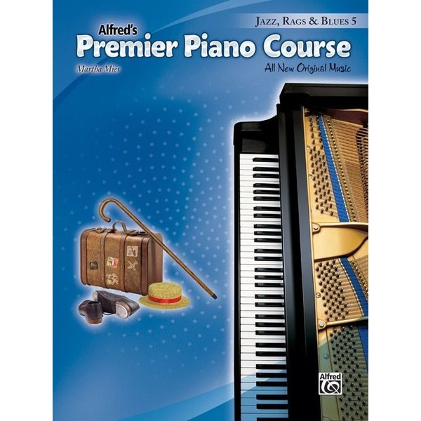 Alfred Music Premier Piano Course, Jazz, Rags & Blues 5