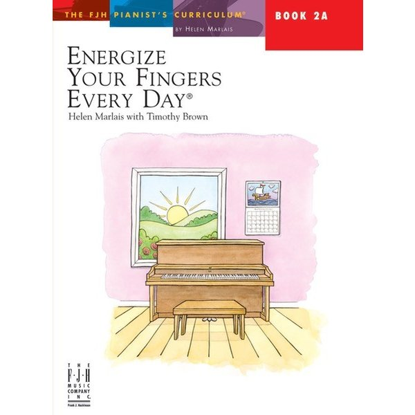 FJH Energize your Fingers Every Day Book 2A