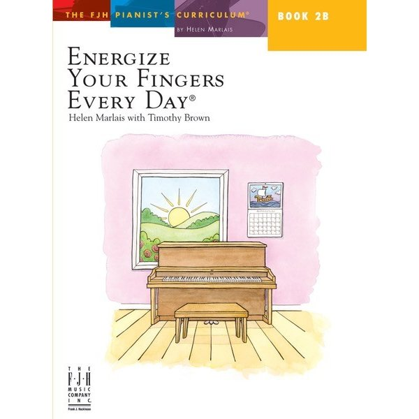 FJH Energize Your Fingers Every Day Book 2B
