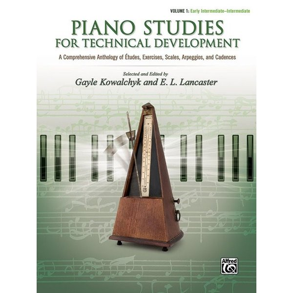 Alfred Music Piano Studies for Technical Development, Volume 1