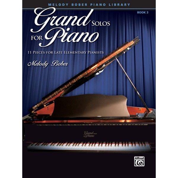 Alfred Music Grand Solos for Piano, Book 3