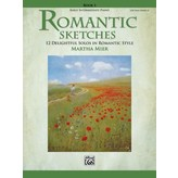Alfred Music Romantic Sketches, Book 1