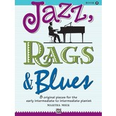 Alfred Music Jazz, Rags & Blues, Book 2