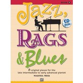 Alfred Music Jazz, Rags & Blues, Book 5 & CD
