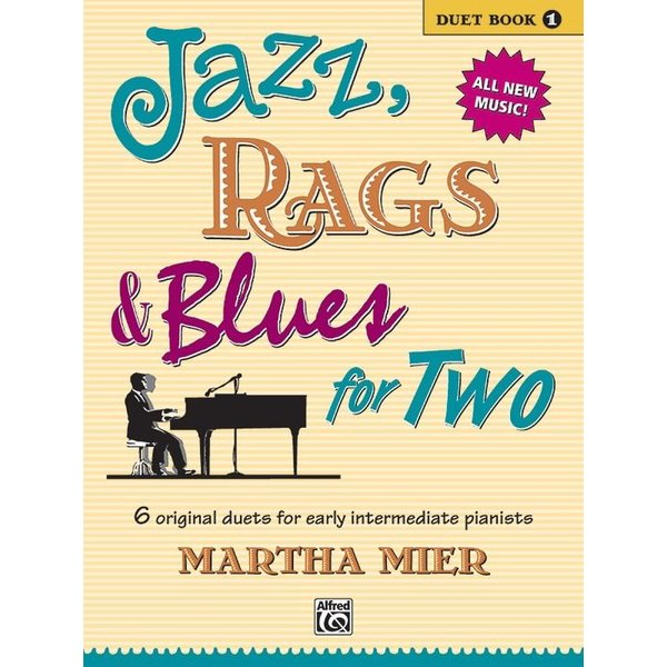 Alfred Music Jazz, Rags & Blues for Two, Book 1