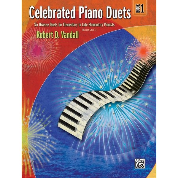 Alfred Music Celebrated Piano Duets, Book 1