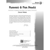 Alfred Music Famous & Fun Duets, Book 4