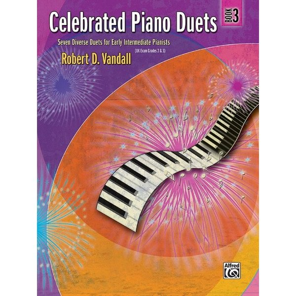 Alfred Music Celebrated Piano Duets, Book 3