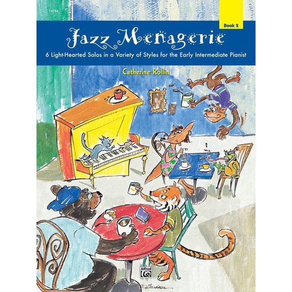 Alfred Music Jazz Menagerie, Book 2