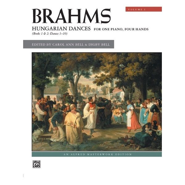 Alfred Music Brahms - Hungarian Dances, Volume 1