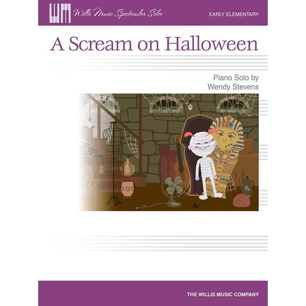 Willis Music Company A Scream on Halloween