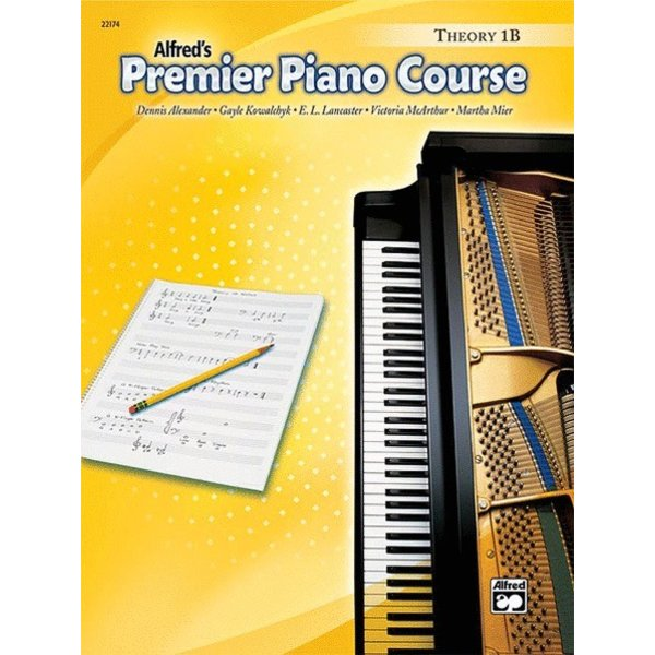 Alfred Music Premier Piano Course: Theory Book 1B