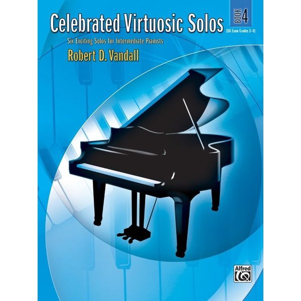 Alfred Music Celebrated Virtuosic Solos, Book 4