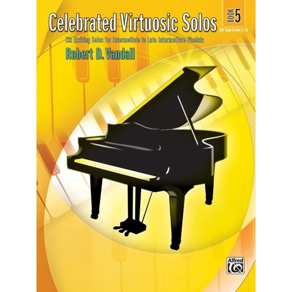 Alfred Music Celebrated Virtuosic Solos, Book 5