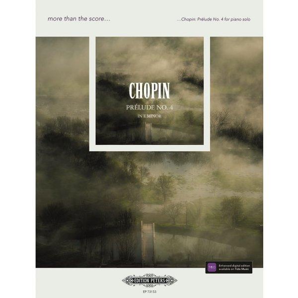 Edition Peters Chopin - Prélude No. 4 in E minor