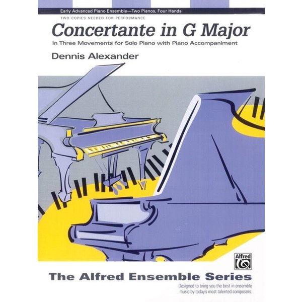 Alfred Music Concertante in G Major