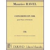 Editions Durand Concerto in G