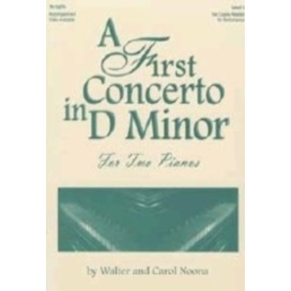 Lorenz A First Concerto in D Minor