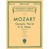 Schirmer Mozart - Concerto No. 14 in Eb, K.449