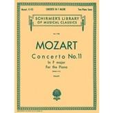 Schirmer Mozart - Concerto No. 11 in F, K.413
