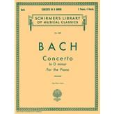 Schirmer Bach - Concerto in D Minor (2-piano score)