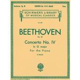 Schirmer Beethoven - Concerto No. 4 in G, Op. 58