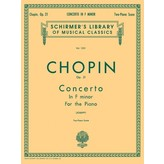 Schirmer Chopin - Concerto No. 2 in F Minor, Op. 21