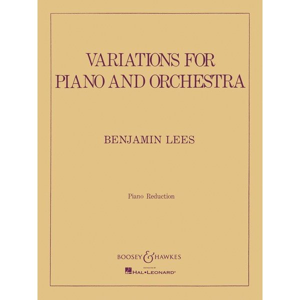 Boosey & Hawkes Lees - Variations for Piano and Orchestra