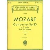 Schirmer Mozart - Concerto No. 23 in A, K.488
