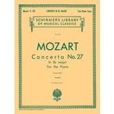 Schirmer Mozart - Concerto No. 27 in Bb, K.595