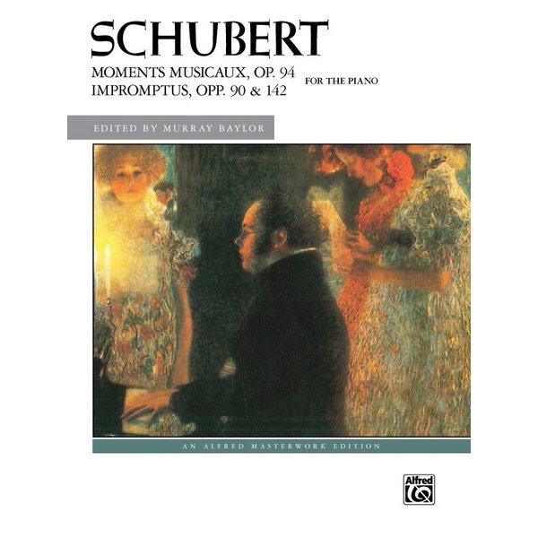 Alfred Music Schubert - Moments Musicaux, Op. 94 & Impromptus, Opp. 90 & 142 - Comb Bound