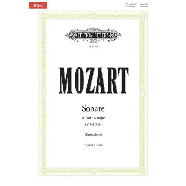 Edition Peters Mozart - Sonata A major K331 (300i)
