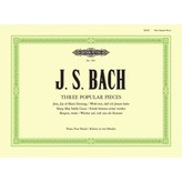 Edition Peters Bach - Three Popular Piano Duets