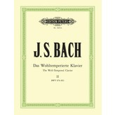 Edition Peters Bach - The Well-Tempered Clavier Part 2 BWV 870-893