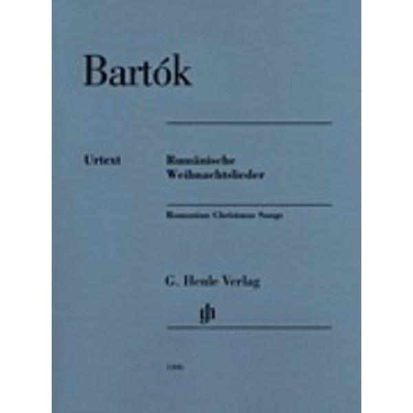 Henle Urtext Editions Bartok- Romanian Christmas Songs