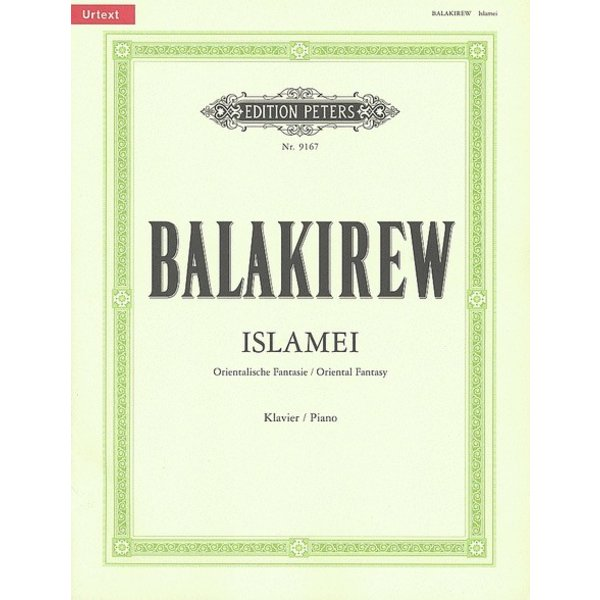 Edition Peters Balakirev - Islamei